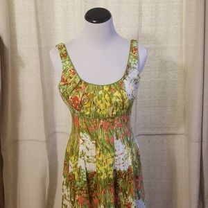 New Directions Spring Easter Midi Dress